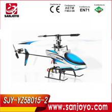 2.4GHz 4CH juegos de control de helicóptero w / helicóptero LED juguetes para niños Cool looks wholesale toys