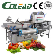 Linha automática de processamento de legumes / salada / máquina de lavar legumes IQF