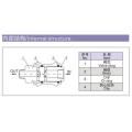 ESP neumática Válvulas de corredera manual de 3/2 vías de la serie HSV