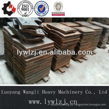 Piezas de fundición de acero resistente al desgaste