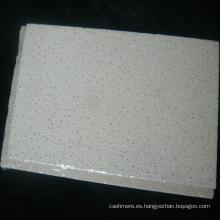 Tablero de techo mineral a prueba de fuego con textura Micro Edge