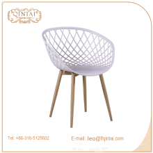 Silla de jardín de uso específico y sin silla plástica plegada ensamblada
