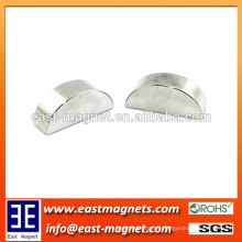 half ring neodymium magnet with for sale/special shape neodymium magnet for sale