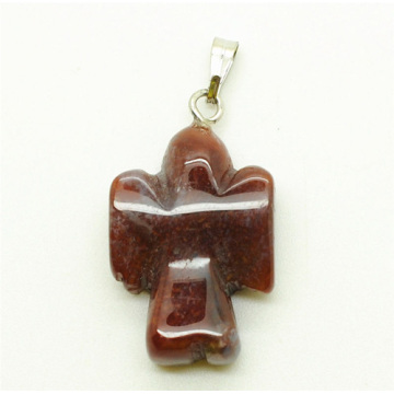 Shape Red Jasper pendant
