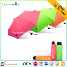 Parapluie superbe mini de la poche 5 de mini poche ouverte géniale manuelle pour la convenance