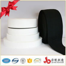High tenacity polyester woven knit elastic webbing tape