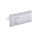 super market plastic label holder/ data strip