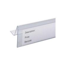 Supermarkt-Etikettenhalter für Kunststoff / Datenstreifen