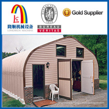 arched galvanized steel buildings