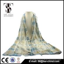 Hot Fashion Women's cotton lace scarf Girl's Long Scarf Wraps Shawl