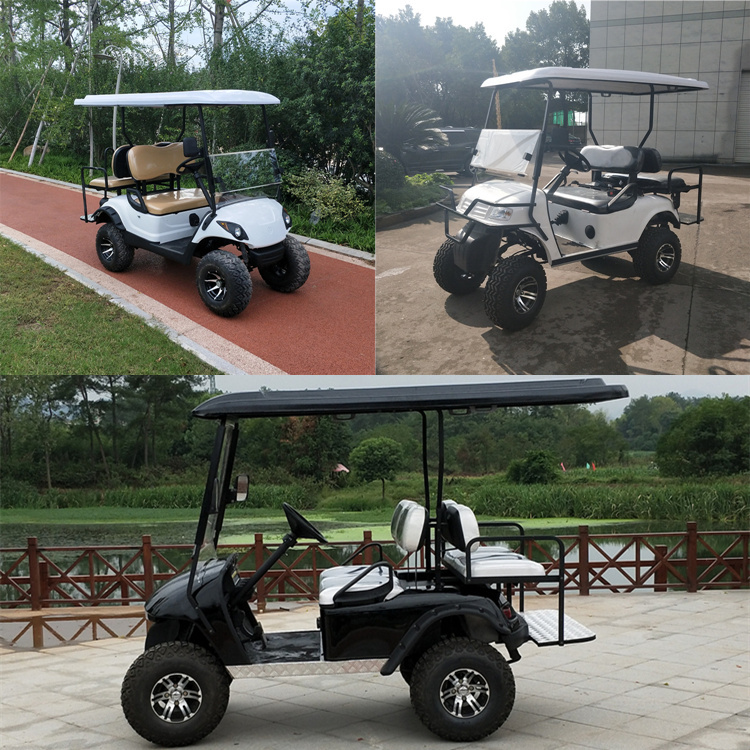 2 2 Seaters Off Road Golf Carts