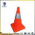 New foldable traffic road cone with LED light