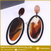 2017 Trendy Europäischen Charme Ohrring Einzigartige Ohrring Fabrik China Acryl Ohrstecker