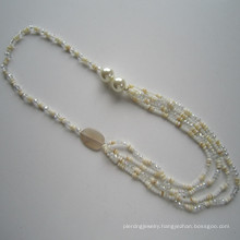 Multi Shell&Crystal Necklace, Fashion Jewelry, Wholesale Necklace