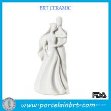 Regalo de boda doble feliz de la porcelana