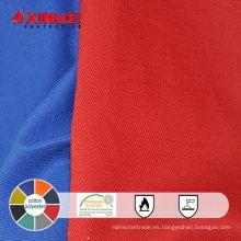 tejido funcional FR de terileno y algodón para ropa protectora