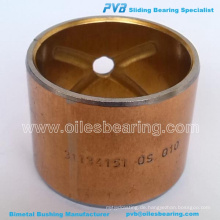BIMETAL CENTER PIN BUSH, ADP. No.1675908M1BUSHING, ID-47.9X52.6X61.2 Artikelnummer 24432063 / .No.WB054 BEARING