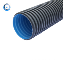 hdpe double wall corrugated plastic pipelines cost