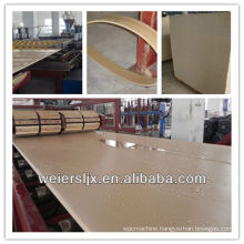 most professional ce certification construction furniture pvc wood plastic composite machine
