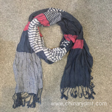 Fashion Stripe Viscose Scarves