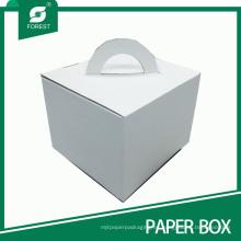 2015 cajas de pastel impresas personalizadas de nuevo diseño
