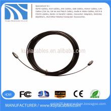 Digital Optical Optic Fiber Toslink Audio Cable 5m OD 2.2mm