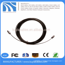 Цифровой оптический оптический волоконно-оптический кабель Toslink 5 м OD 2,2 мм