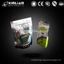 China high quality stand up pouch side gusset,quad side sealed tea bags/vacuum bags