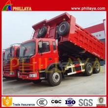 Lado Tractor reboque basculante com Volume opcional caminhão