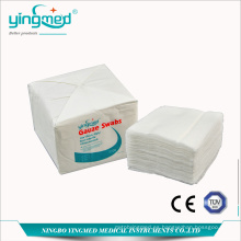 Bastoncillo de gasa 100% algodón con o sin rayos X