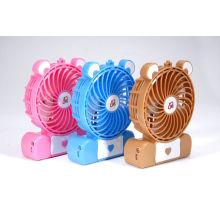 Mini ventilador recargable de 4 ''