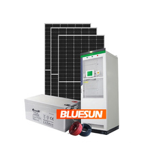 Solar power system in energy 30kw 40kw 50kw 100kwh storage battery solar system solar panel system for industrial use