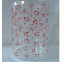 Custom Gift Plastic tube with printing (christmas gift box)