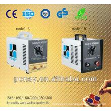 CE zugelassenes Edelstahlmaterial tragbare Schweißmaschine ohne Zubehör