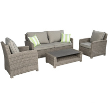 Garden Wicker Outdoor Rattan Furniture Patio Sofa Lounge Set