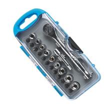 23 PCS Socket Tool Set Pacote de caixa de plástico