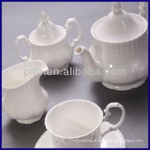 Conjunto de chá de china de osso conjunto de chá