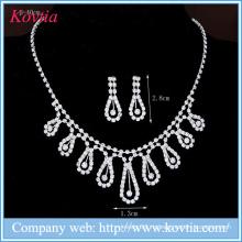 Элегантные свадебные ювелирные украшения с бриллиантами