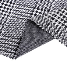Polyester Spandex Plaid Jacquard Strickwaren