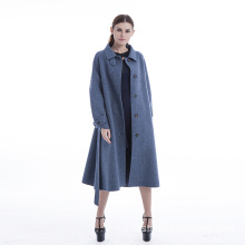 Cappotto in cashmere color marea 2019
