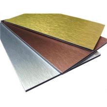 1220X2440mm Metallic White Aluminum Composite Panel for Exterior Wall Cladding