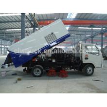 2015 Euro IV caminhão de lavagem de rua para venda, caminhão de limpeza Dongfeng