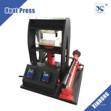 5 ton hidráulica doble calefacción placas intercambiables manual rosin tecnología colofonia dab máquina de prensa