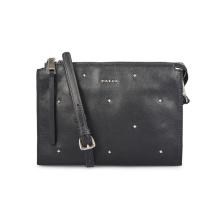 Trendy Elegant Rivet Leather Pouch Wallet Clutch Handbag