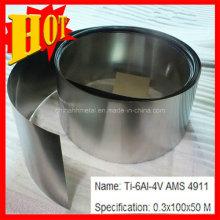 Folha de titânio ASTM B265 Gr 5 com melhor preço