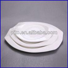crystal oval plate