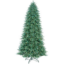 10.5 FT. Just Cut Deluxe Aspen Fir Artificial Christmas Tree with 1100 Color Choice LED Lights (MY100.077.00)