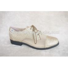 Брокден женской обуви плоский плюс размер одной обуви марочные малые Gleit опрятный стиль женский британский стиль обувь женская обувь