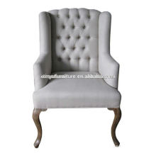 Upholstered armrest chair ( French style) XF1011
