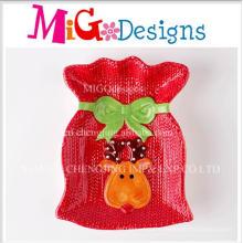 Fashion Christmas Gift Unique Design Ceramic Snack Plate